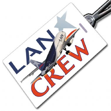 LAN Airlines A320 Tag